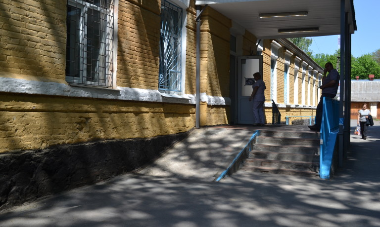 Ревізія на візку в лікарні ім. О.І. Ющенка